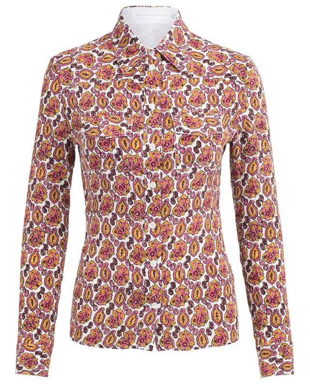 Printed silk crepe shirt VICTORIA BECKHAM