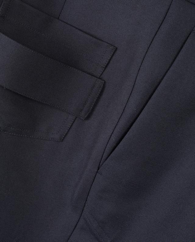 Pantalon large en laine vierge mélangée VICTORIA BECKHAM