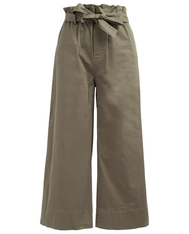 Wide leg cotton blend trousers FRAME