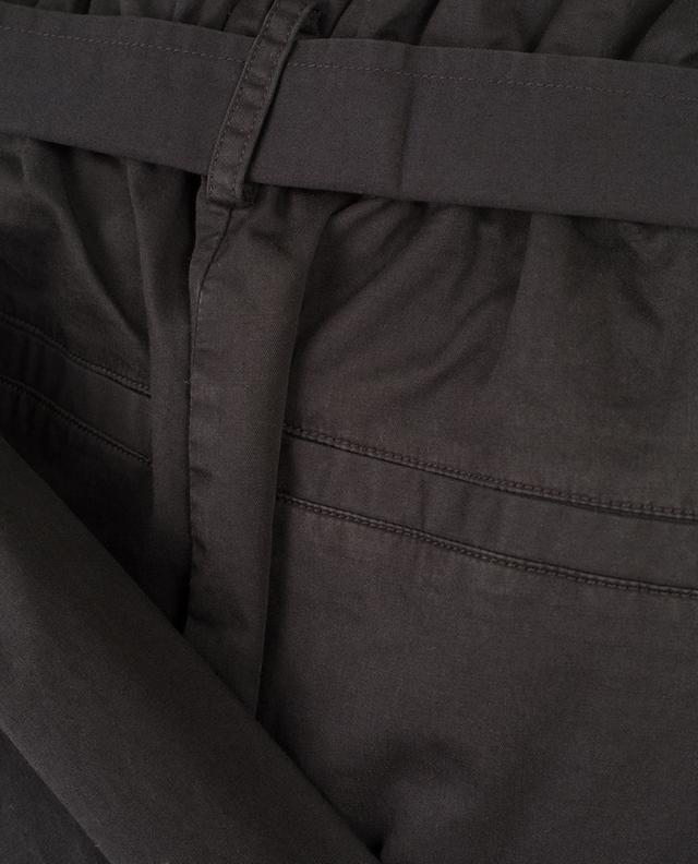 Wide leg cotton blend trousers FRAME