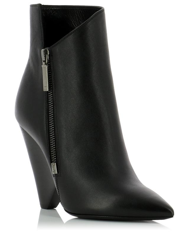 bb789eadeef SAINT LAURENT PARIS Niki leather ankle boots - Bongénie-Grieder