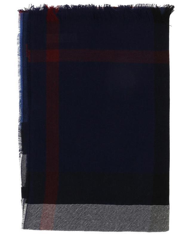BURBERRY Écharpe légère en laine et cachemire Check - Bongénie-Grieder 6b58ad0cfa1