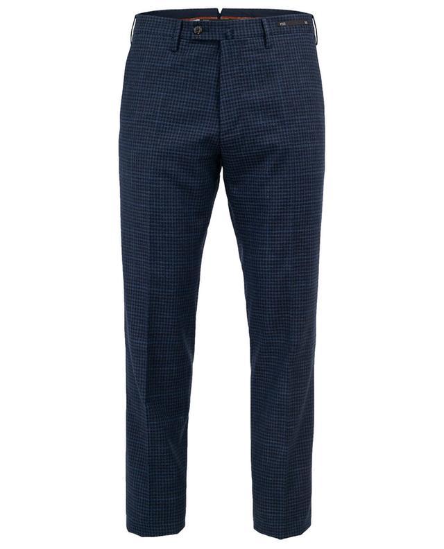 Pantalon en laine vierge et coton mélangés PT01
