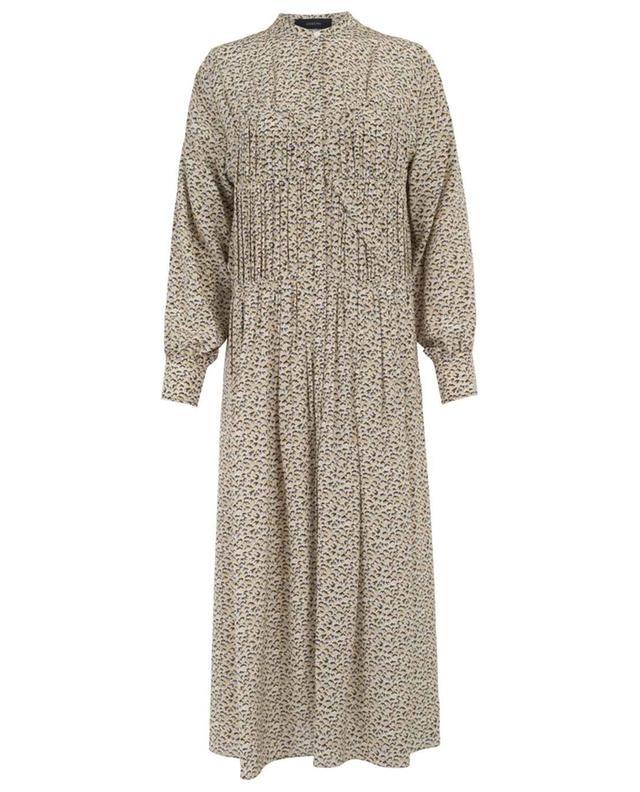 Jamie printed long dress JOSEPH