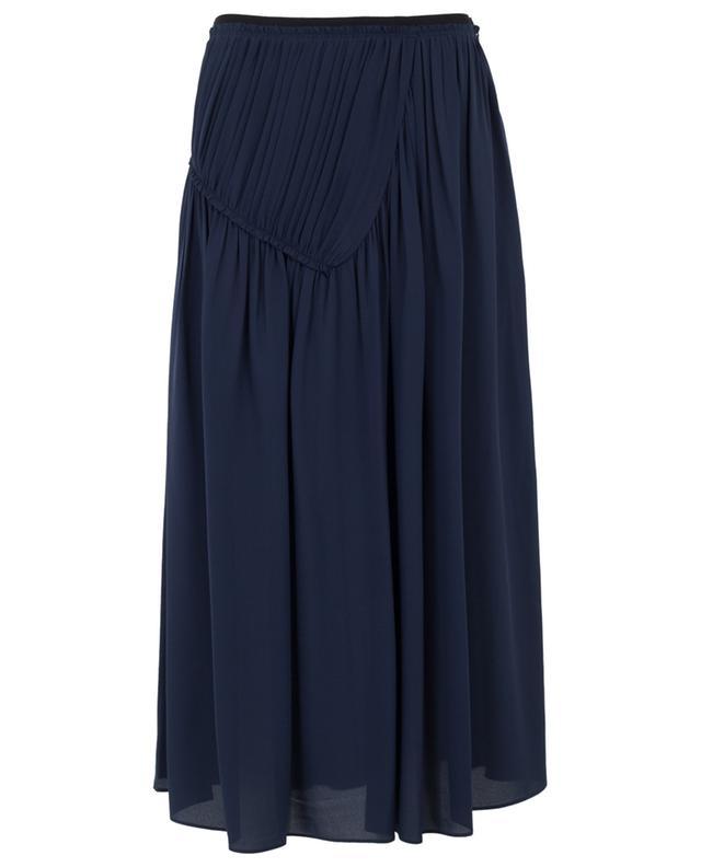Collins silk long skirt JOSEPH