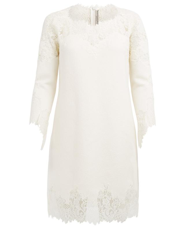 Wool, silk and cashmere blend dress ERMANNO SCERVINO
