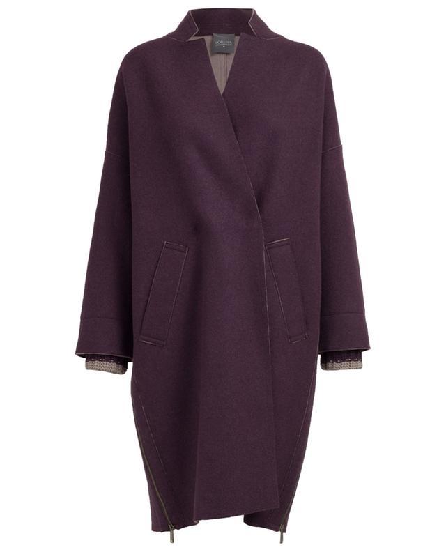 Virgin wool, cashmere and silk coat LORENA ANTONIAZZI