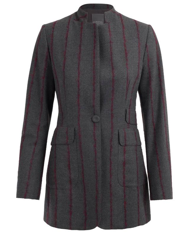 Virgin wool blend blazer LORENA ANTONIAZZI