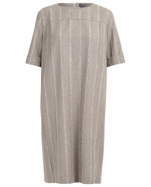 Kurzes Kleid aus Schurwollmischgewebe LORENA ANTONIAZZI