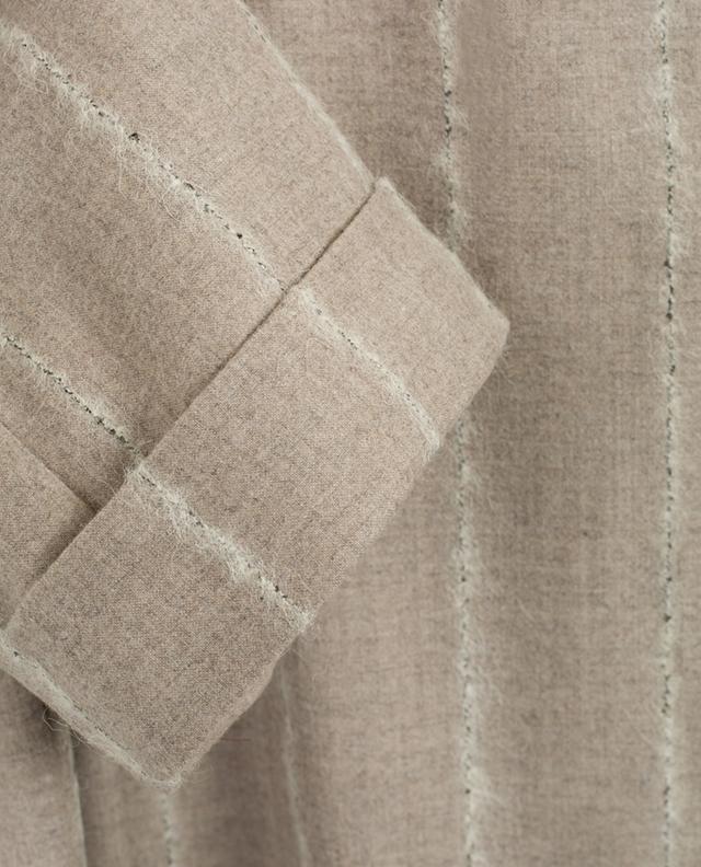 Robe courte en laine vierge mélangée LORENA ANTONIAZZI