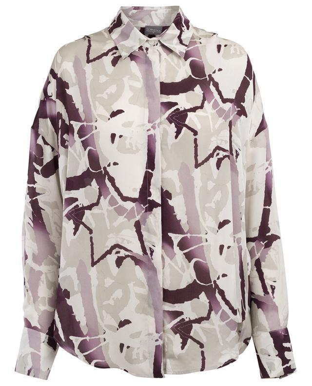 Viscose oversize blouse LORENA ANTONIAZZI