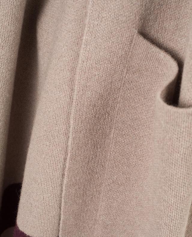 Manteau tricot en laine vierge et cachemire LORENA ANTONIAZZI