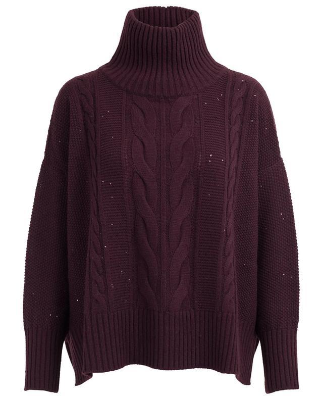 Oversize wool blend jumper LORENA ANTONIAZZI