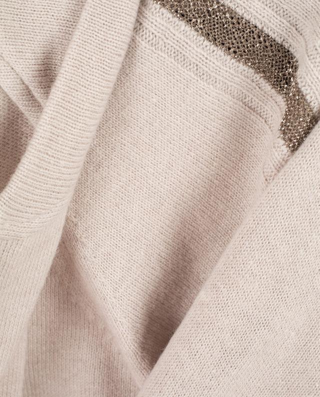 Virgin wool and cashmere cardigan LORENA ANTONIAZZI