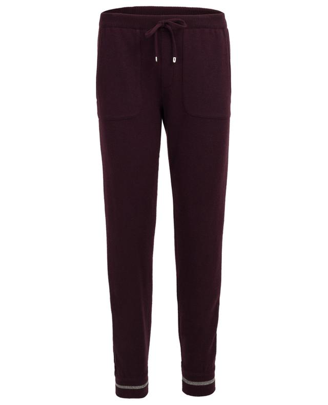 Wool and cashmere jogging trousers LORENA ANTONIAZZI