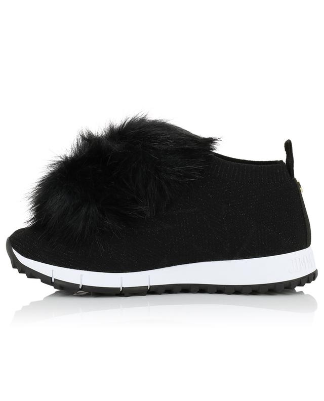 Baskets slip-on avec fourrure synthétique Norway JIMMY CHOO