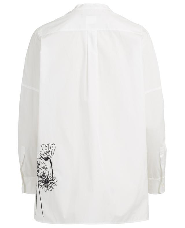 Cadmio embroidered cotton shirt WEEKEND MAXMARA