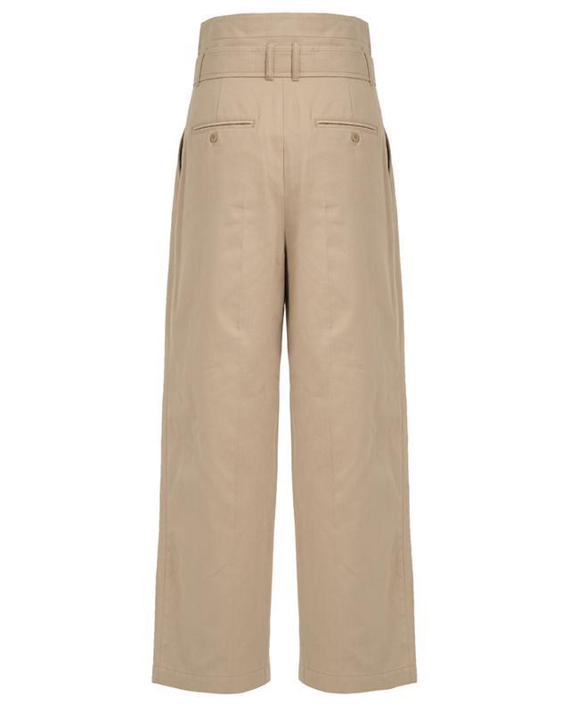 Weite Hose aus Baumwolle Ebro WEEKEND MAXMARA