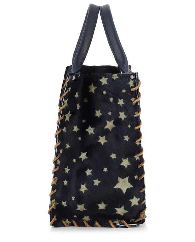 Aztek Small leather tote bag LET&HER