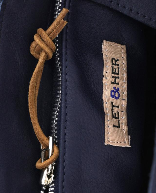 Shopper aus Leder Aztek Small LET&HER