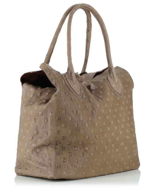 Handtasche aus Leder Medium Pyramide LET&HER