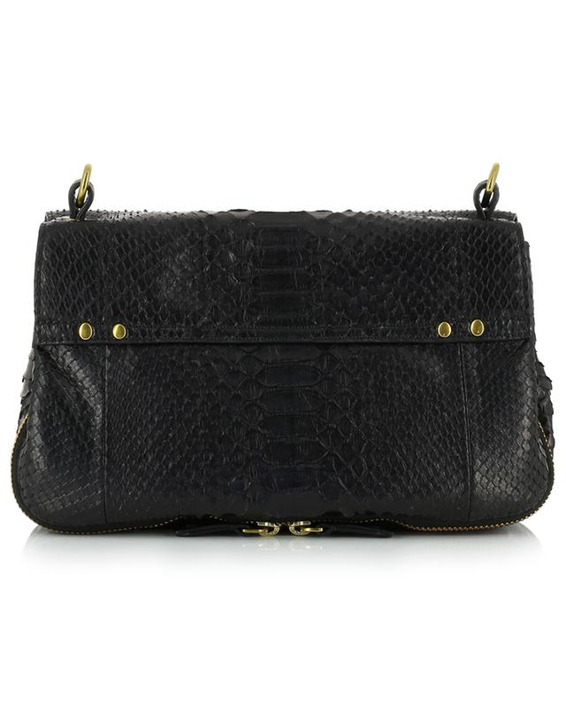 JEROME DREYFUSS Bobi leather and python bag - Bongénie-Grieder 5507d53d7