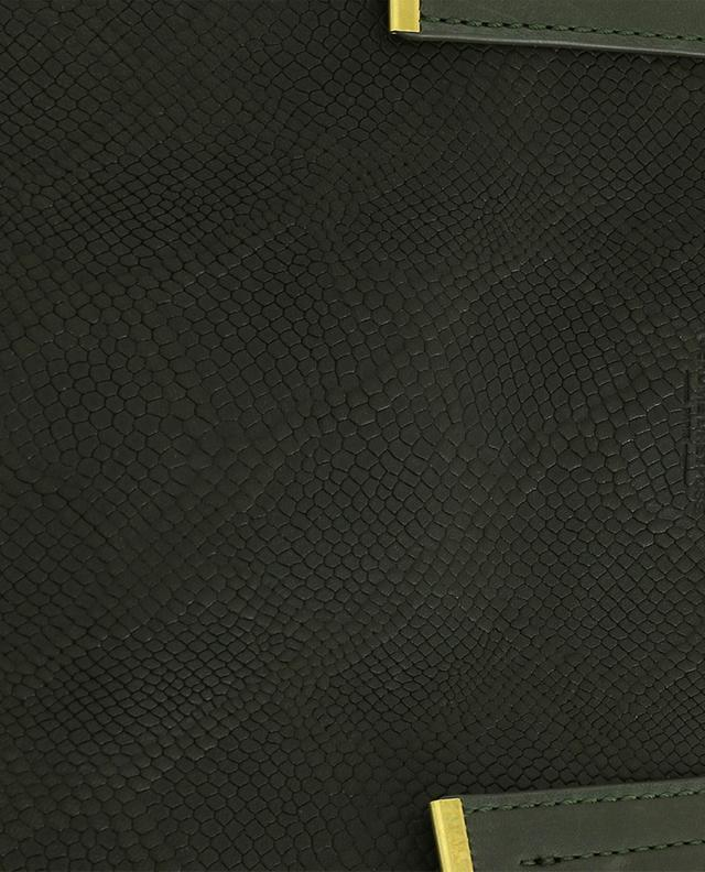 Sac cabas en cuir texturé Georges M JEROME DREYFUSS