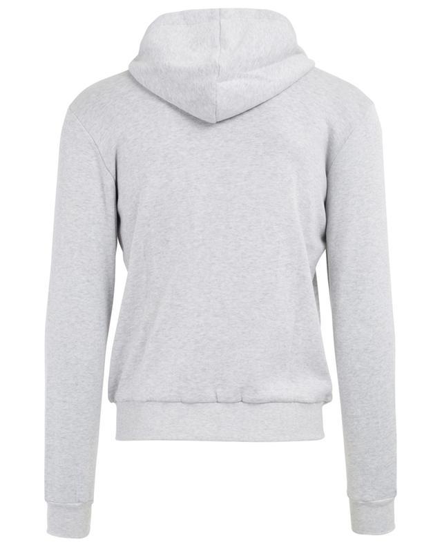 Sweat-shirt zippé en coton mélangé ELEVENTY