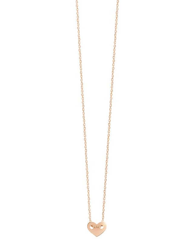 Feine Halskette aus Roségold Angie VANRYCKE
