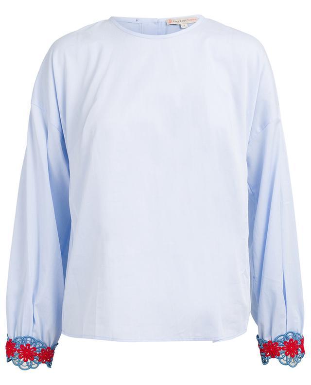 Bluse aus Baumwolle und Spitze Accapella PAUL & JOE SISTER