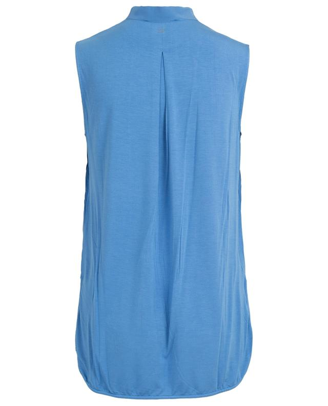 Ubicato sleeveless bi-material top WEEKEND MAXMARA