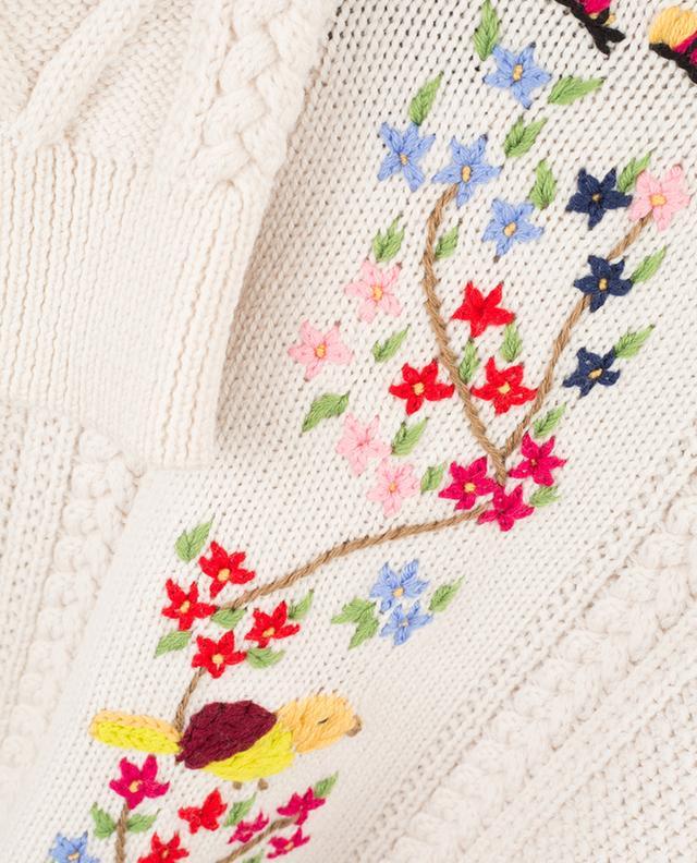 Rodi embroidered virgin wool jumper WEEKEND MAXMARA