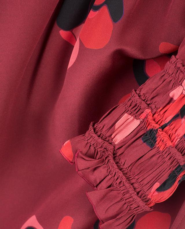 Blouse en soie imprimée AKRIS PUNTO