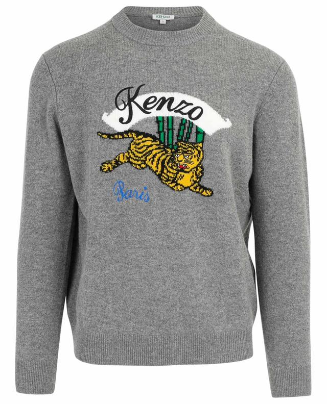 Pullover aus Wolle Jumping Tiger KENZO