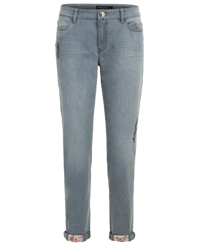 Straight fit distressed jeans MARC CAIN