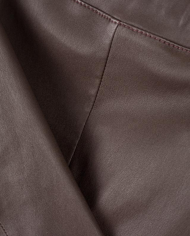 Leather leggings MARC CAIN