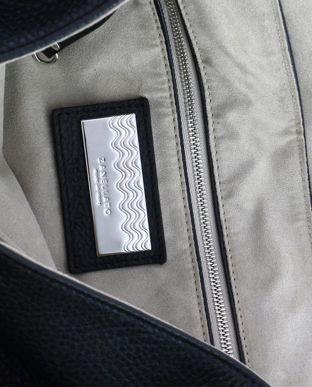 Postina M Linea Daily grained leather bag ZANELLATO