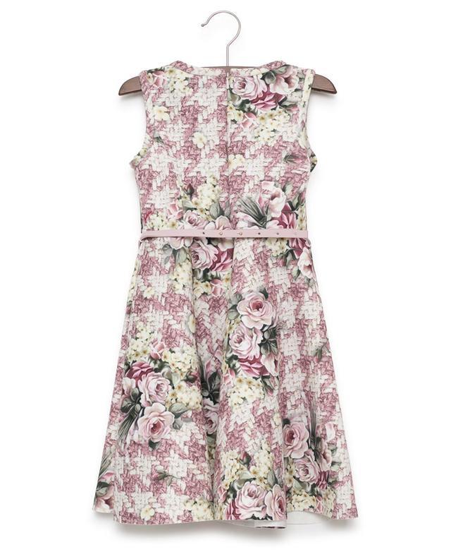 Ärmelloses Kleid mit Print MONNALISA
