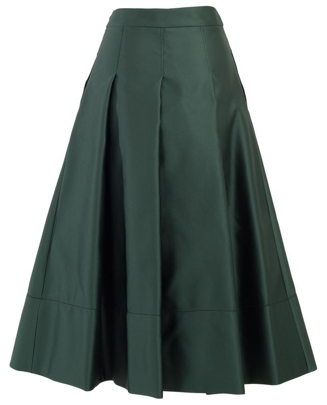 A-line satin midi-length skirt PIAZZA SEMPIONE