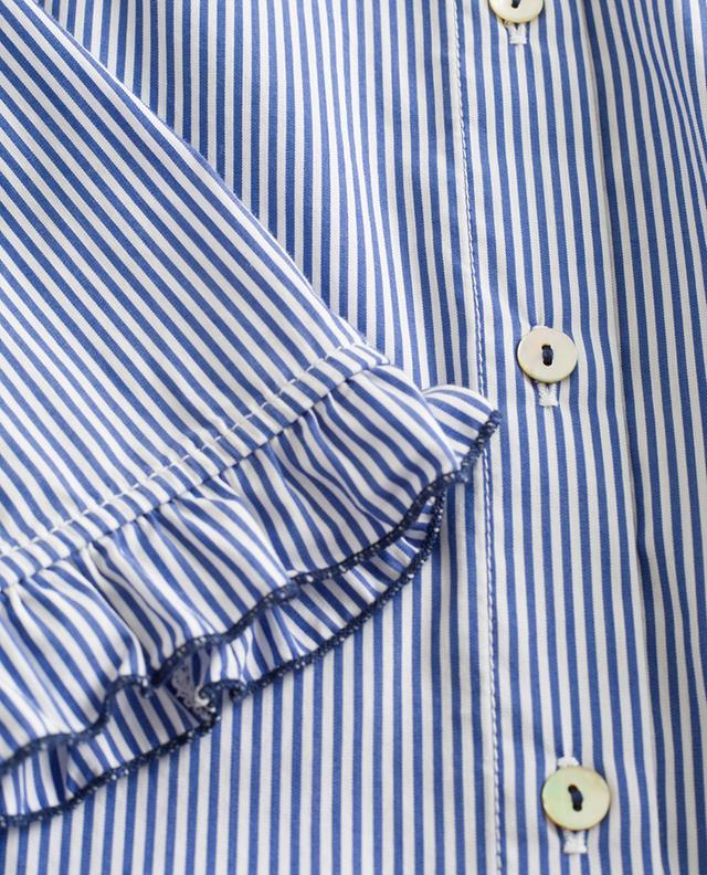 Striped cotton blend shirt LA CAMICIA