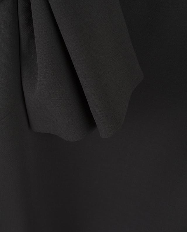 Langärmliges Kleid aus Schurwolle WINDSOR