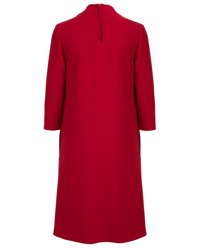 A-förmiges Kleid aus Schurwolle WINDSOR