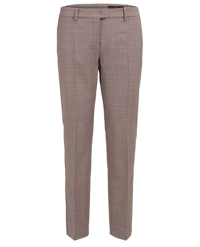 Straight cropped wool trousers WINDSOR