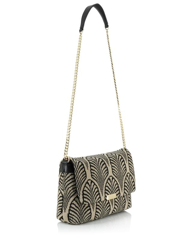 Knit and leather shoulder bag TWINSET
