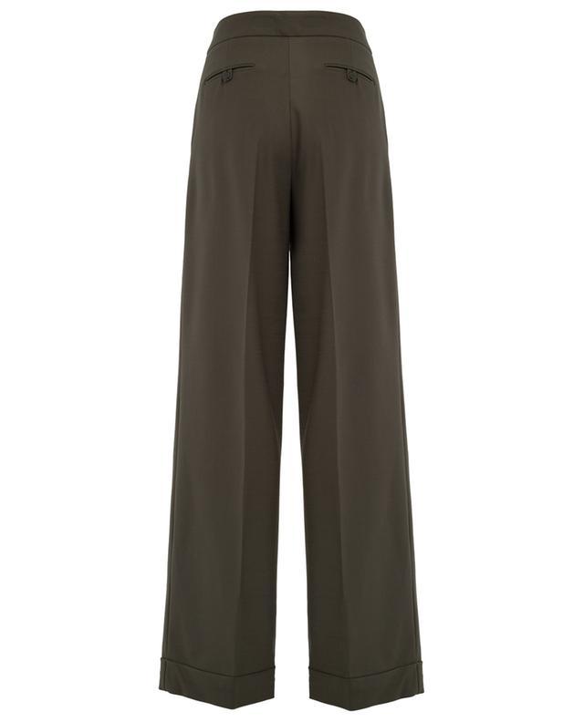 Wide-leg wool blend trousers TWINSET