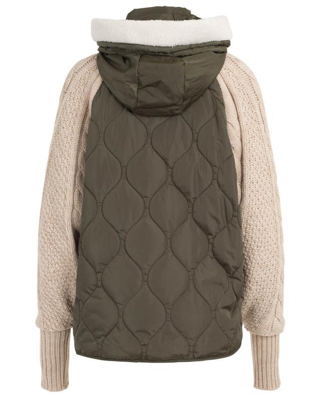 Leichte Jacke im Materialmix TWINSET