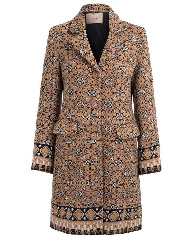 Leichter Mantel aus Wollmix TWINSET