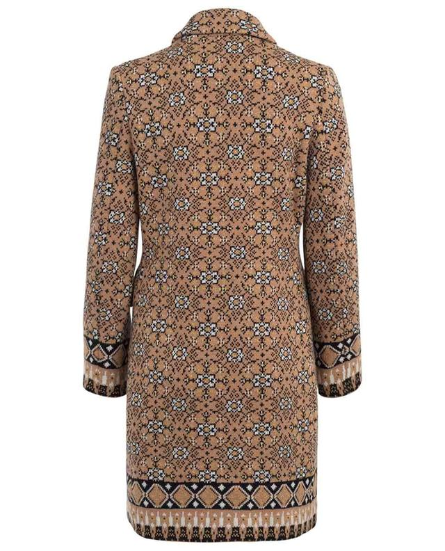 Manteau léger en laine mélangée TWINSET