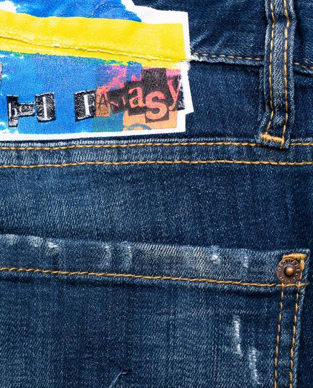 Distressed slim fit jeans DSQUARED2