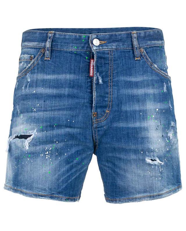 Distressed denim shorts DSQUARED2